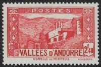 Andorra (French POs) SG F68 1942 Definitive 2f.40 unmounted mint